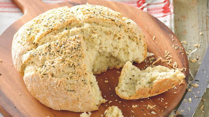 Rosemary and Parmesan Soda Bread
