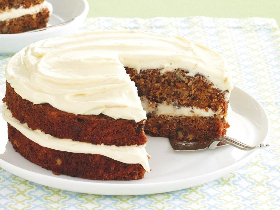 Kumara Cake With Orange Frosting Recipe