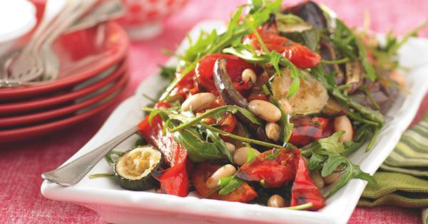Roast Vegetable Salad Food To Love