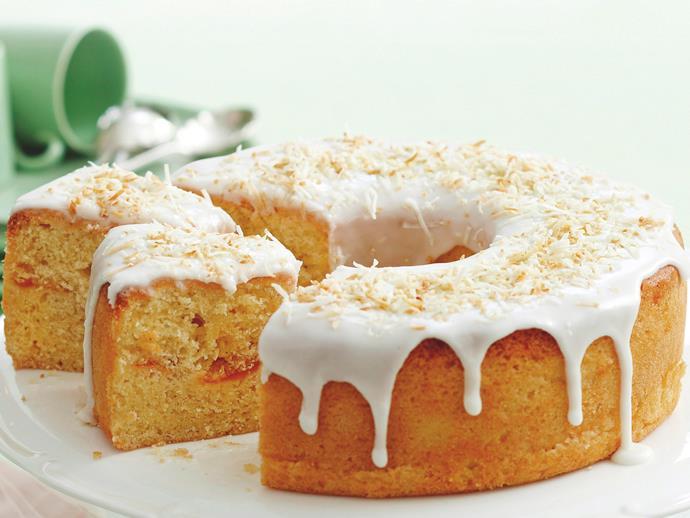 """**[Mango cake with lemon icing](https://www.womensweeklyfood.com.au/recipes/mango-cake-with-lemon-icing-16061 target=""""_blank"""")**"""
