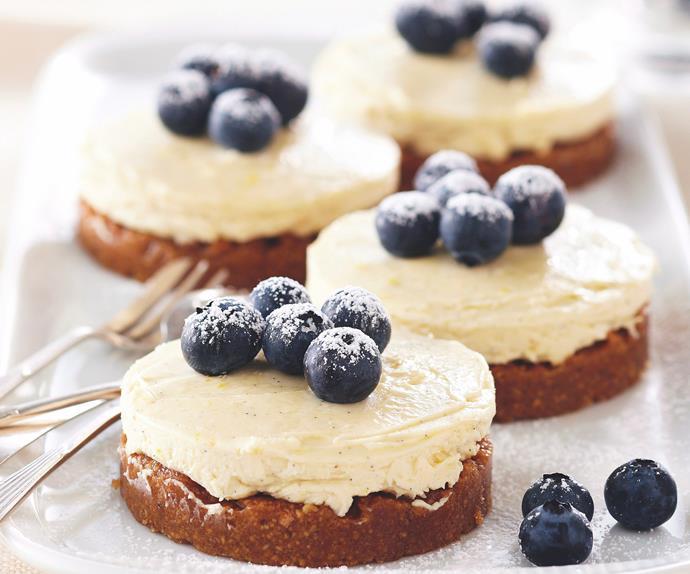 Lemon Cheesecakes