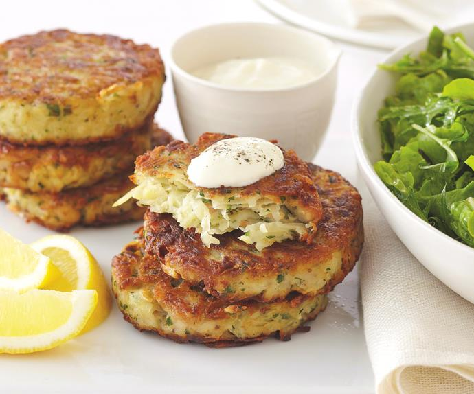 Tuna Potato Cakes