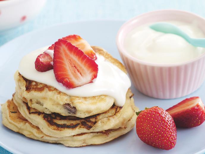 "**[Buttermilk pikelets](https://www.womensweeklyfood.com.au/recipes/buttermilk-pikelets-20295|target=""_blank"")**"