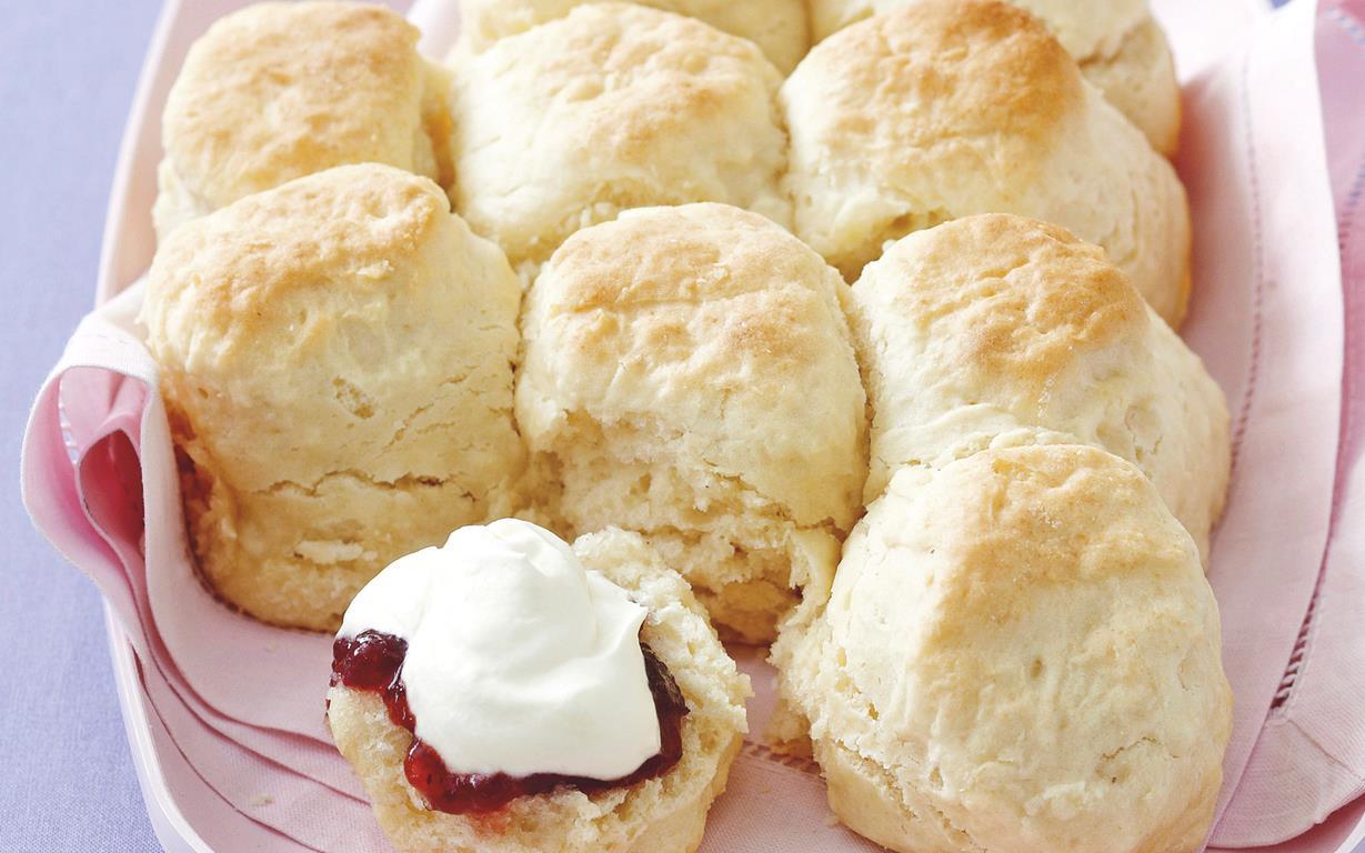 Scones With Cake Flour