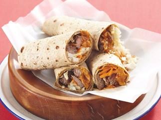 Beef Satay Wraps