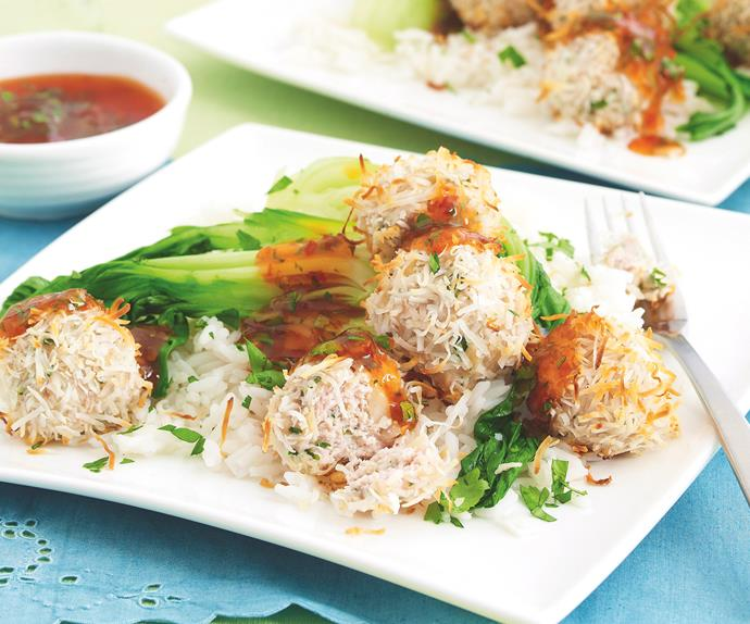 Chicken and Coriander Meatballs