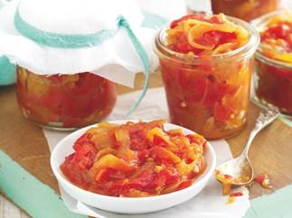 Roast Red Capsicum and Chilli Relish