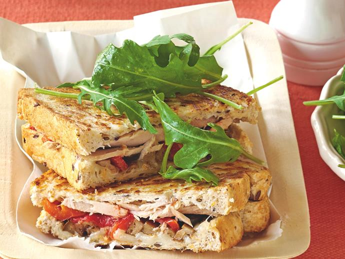 """**[Tuscan tuna toasties](https://www.womensweeklyfood.com.au/recipes/tuscan-tuna-toasties-19783