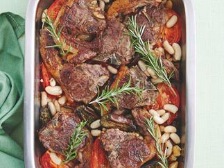 Mediterranean Lamb and Vegetable Bake