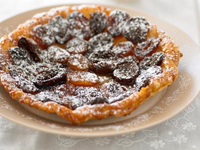 """**[Apricot and fig tarte tatin](https://www.womensweeklyfood.com.au/recipes/apricot-and-fig-tarte-tatin-28002