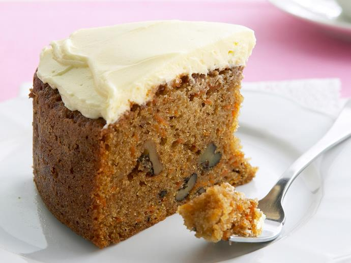 """No [carrot cake](https://www.womensweeklyfood.com.au/recipes/carrot-cake-19967