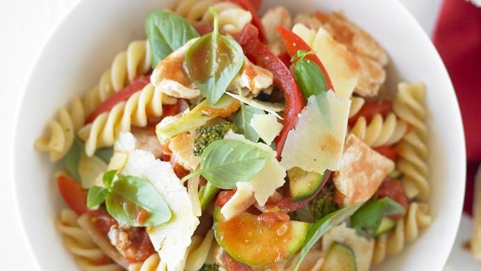 Chicken and Vegetable Pasta