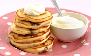 Choc-chip pikelets