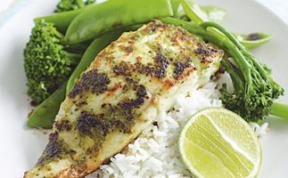 Green Chilli Spiced Fish