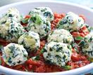 Silverbeet and ricotta dumplings