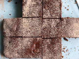 Sultana and Pecan Brownies