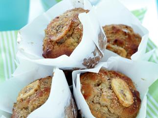 Spiced Banana Muffins