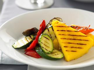 Chargrilled Polenta and Vegetables