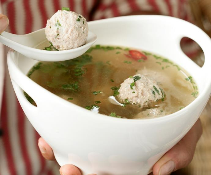 Asian Chicken Dumpling Broth