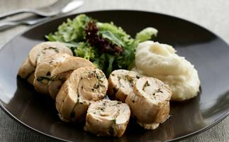 Sage and Prosciutto Stuffed Chicken Breast