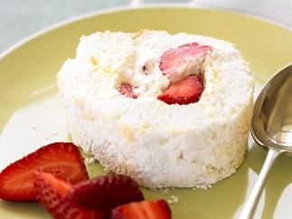 Coconut Pavlova Roll