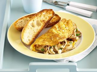 Mushroom Omelettes