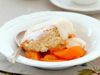 Fruit Sponge Dessert