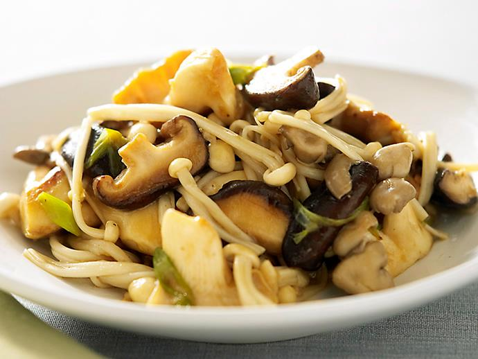 "Packed full of texture, this [mixed mushroom stir-fry](https://www.womensweeklyfood.com.au/recipes/mixed-mushroom-stir-fry-26942|target=""_blank"") is cooked in a fragrant Asian sauce to create a flavour-packed vegetarian dish in no time at all. Serve with steamed rice or on the side of your favourite meat dish for a complete meal."