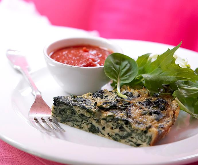Sliverbeet and Blue Cheese Pie
