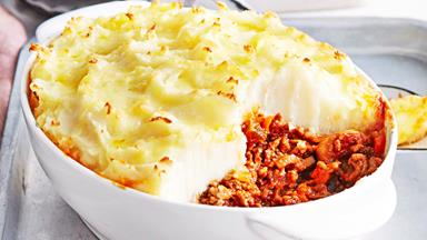 Family shepherd's pie