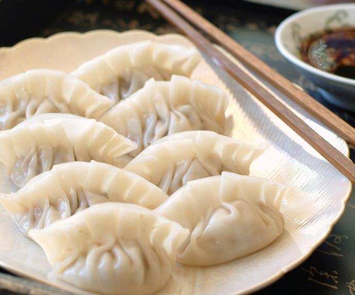 Pork Sui Mai with Vinegar Soy Dressing