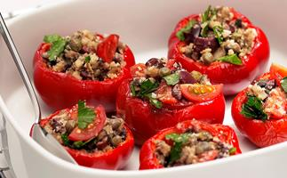 Roasted Baby Red Capsicums