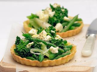 Winter Vegetable Tarts