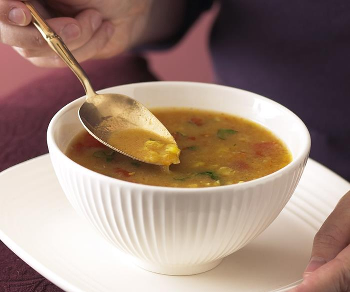 Curried Lentil and Tomato Soup