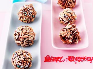 Chocolate Almond Balls