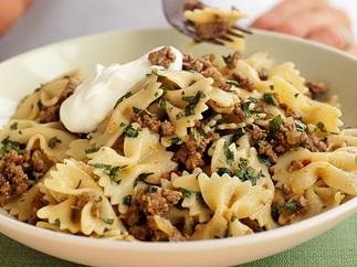 Middle Eastern-spiced Lamb with Pasta