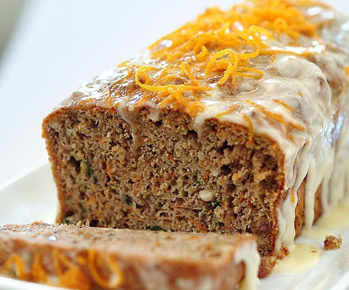 Carrot and zucchini cake