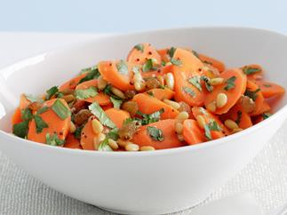 Honey Mustard Carrot Salad