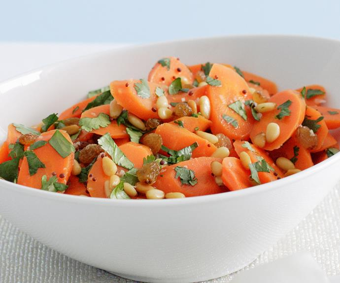 Honey Mustard Carrot Salad
