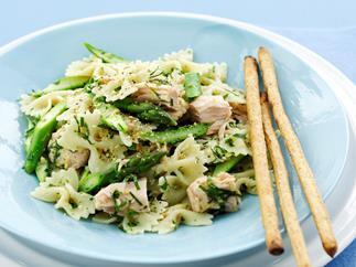 Tuna and Lemon Pasta Salad