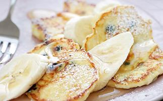 Ricotta and Honey Pikelets