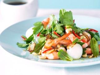 Prawn and Lychee Salad