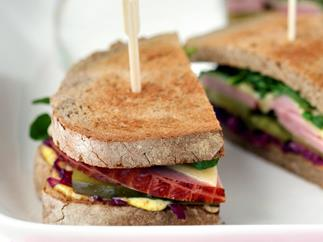 Six Ways With Ham- Ham Deli Sandwich