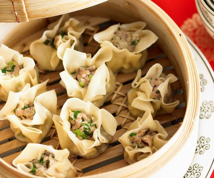 Steamed Dumplings - Dim Sims