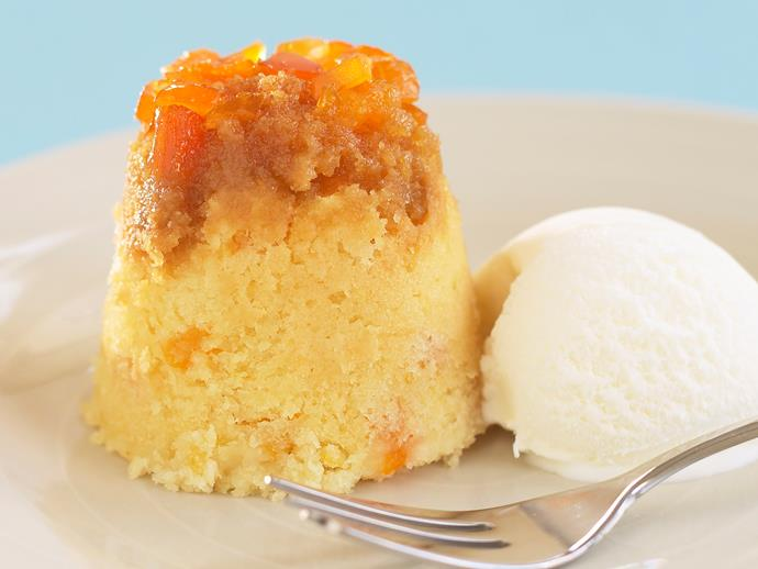 """**[Steamed apricot puddings](https://www.womensweeklyfood.com.au/recipes/steamed-apricot-puddings-24461