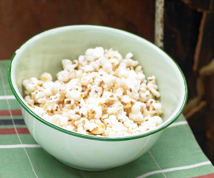 Healthify your popcorn snack