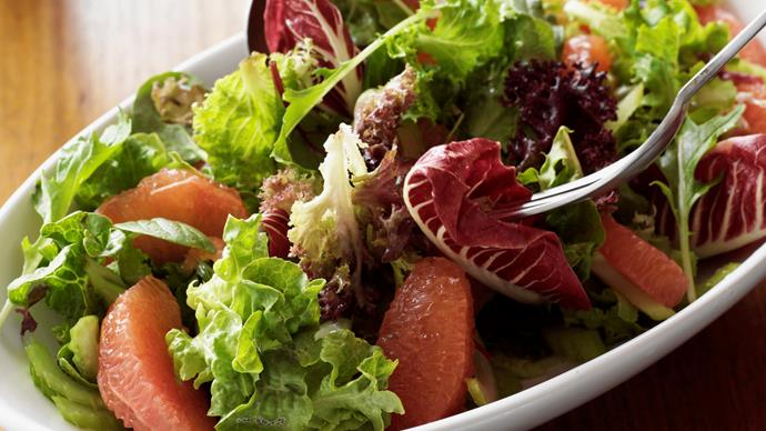 Leafy Grapefruit and Celery Salad