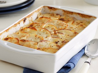Leek and Potato Gratin