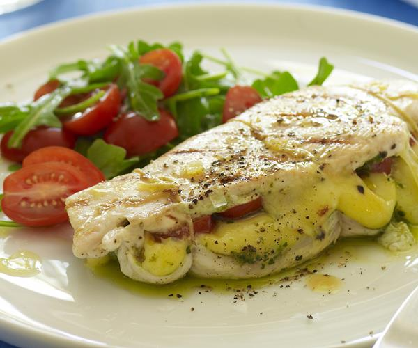 Quick and easy with wonderful taste, this simple marinade for grilled chicken breasts makes a great main course for a special dinner or the perfect topping for a lunch salad.