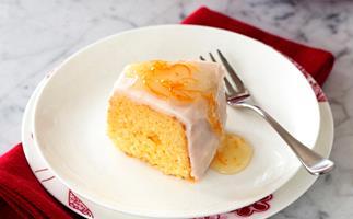 Ruby Grapefruit Tea Cake